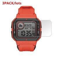 3 Pack para Huami Amazfit Neo Protector de pantalla de vidrio templado 9H de Smartwatch protectora de vidrio