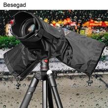 Besegad Waterdichte Water Proof Camera Regenhoes Rainshade Protector Case Jas voor DSLR Camera S Canon Nikon Sony Pentax