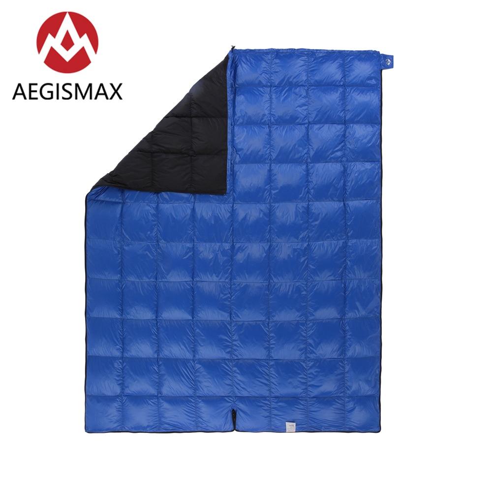 AEGISMAX SP Ultralichte 650FP 90% Witte eendendons slaapzak camping Outdoor en Familie Open het pakket kan worden gebruikt een quilt - 5