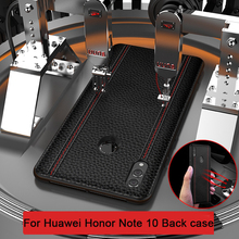 For Huawei Honor Note 10 Case Luxury Genuine Leather Fashion Full Protective Cover  Honor Note 10 Back Phone Case Note10 Funda