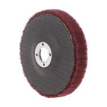 Disc-Pad Wheel-Polishing Buffing Rotary-Tool Fiber-Grinding Nylon Abrasive-Brush