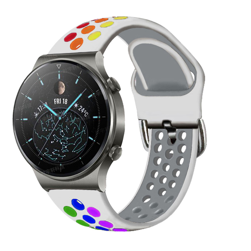 Strap For Huawei GT 2 Pro Smart Watchband 22mm Silicone Bracelet Straps Band For Huawei Watch GT 2 46mm Honor Magic Watch 2 Pro|Smart Accessories| - AliExpress