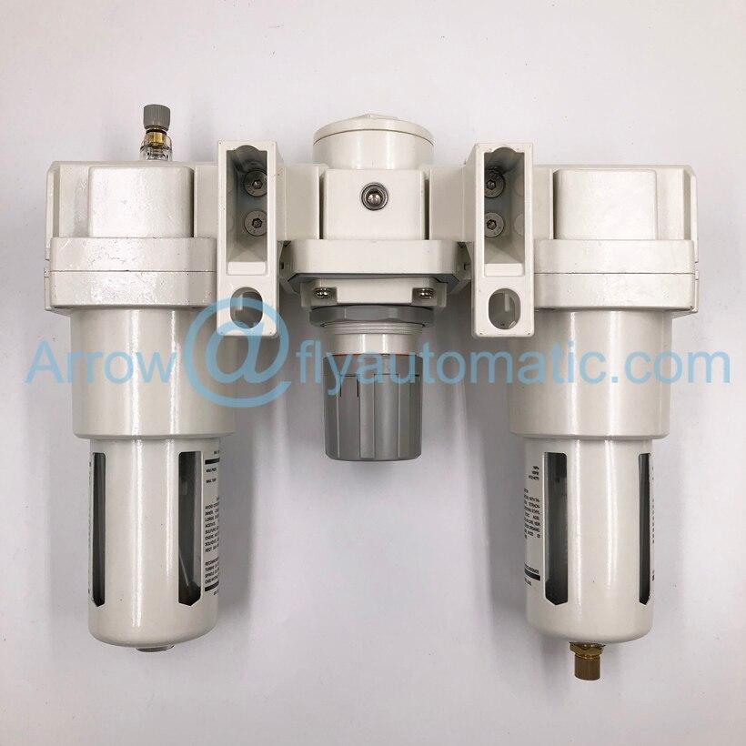 Ф. Р. Л шланг пневмопривода комбинированный AC5000-06 AC5000-10 1 дюймов три единицы фильтр-регулятор смазки