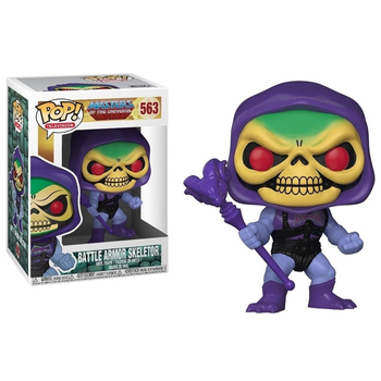 Funko Pop MASTERS OF THE UNIVERSE BATTLE ARMOR SKELETOR #563 Vinyl Action Figure Dolls Toys 1