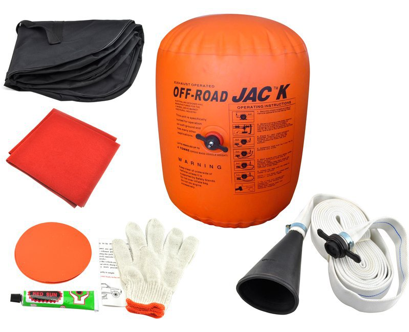4 Ton  Air Exhaust Jack Double-layer Inflatable Jack 4 Tons Farmer Top