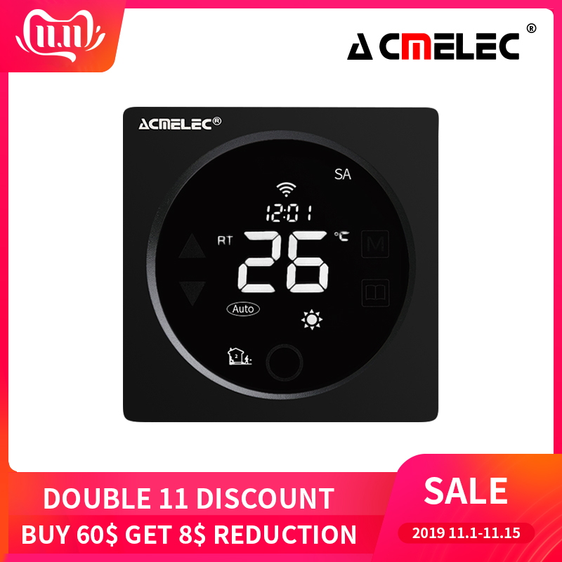 WIFI Thermostat Smart Thermostat Gas Boiler/Watre/Electric Floor Heat WIFI Controlled Thermostat Voice 16A/3A LCD AE-36-D