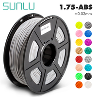 3d printer filament new free ship SUNLU promotional grey filament 1kg abs for student 3d drawing tool with laptop accessories