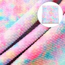 Хлопковая ткань в стиле пэчворк с принтом, 20*34 см