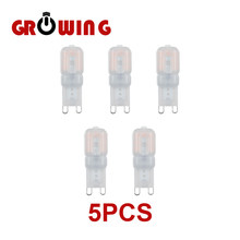 Super Bright Chandelier Lights G9 2.5W with PC Cover 230V SMD2835 Lamp