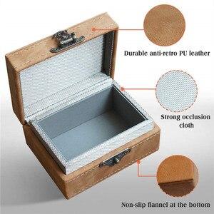 Image 2 - Faradaya pudełko centralny zamek z blokująca sygnał samochodowy pudełko całkowity sygnał blokowanie dla inteligentne klucze RFID blokada sygnału etui w stylu Retro