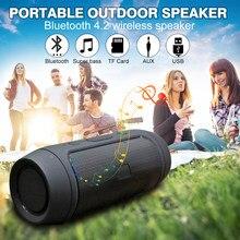 Wasserdichte Tragbare Lautsprecher Mini Bluetooth Musik Bass Lautsprecher Subwoofer Outdoor Wireless Lautsprecher Unterstützung TF FM Radio Aux