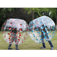 Kids Outdoor Toys Adult Inflatable Air Bumper Ball PVC Thick Transparent Body Zorb Ball TPU High Elasticity Air Bubble Soccer promotion pvc tpu inflatable human balloon human inflatable bumper bubble ball bumper ball for sport games