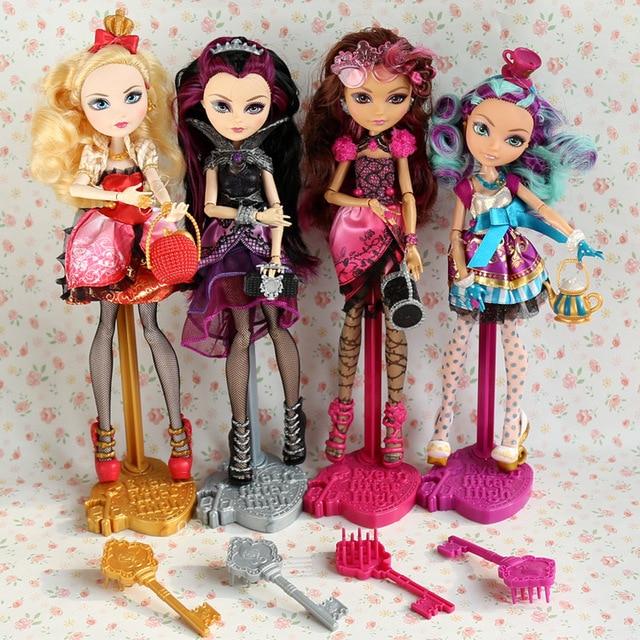 Куклы принцессы, игрушки для девочек, подарки на день рождения, 12 шарнирных кукол