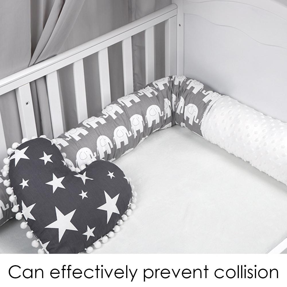 Bumper Safe Washable Baby Bedding Bumper Crib Standard Baby Mattress Lining Baby Bumper For Cribs