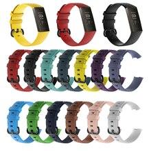 13 цветов, Смарт-часы, браслет для Fitbit Charge 3, ремешок, 3D алмаз, для спорта, Сменные аксессуары для fitbit, ремешок для fitbit Charge3