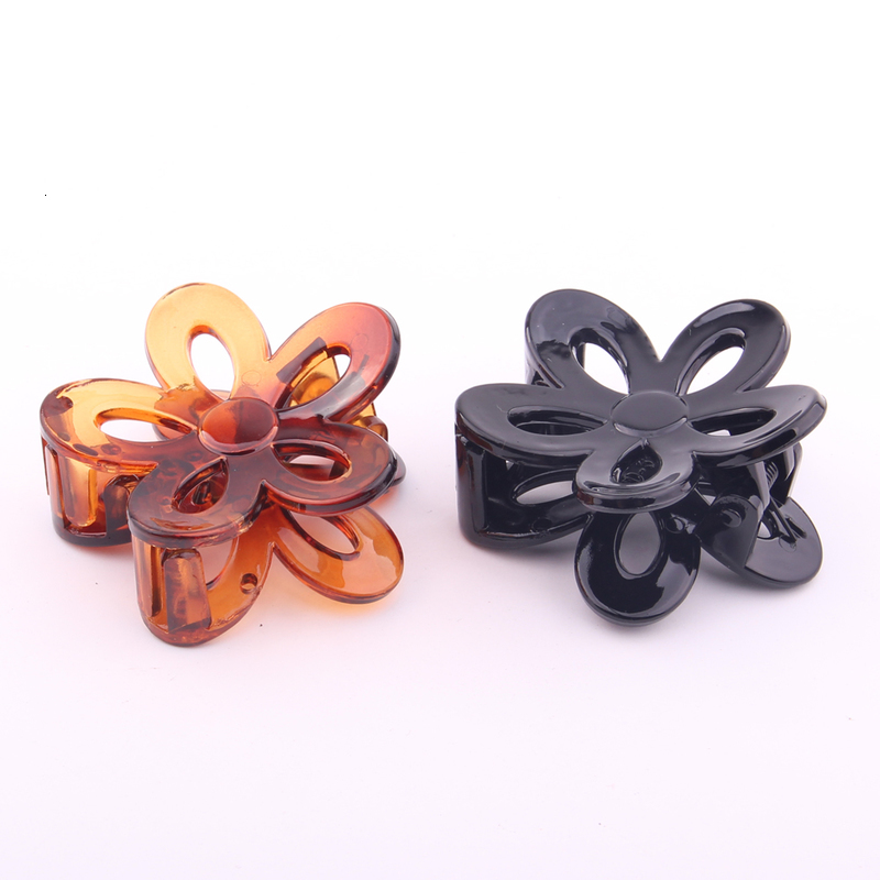 4.8CM New DIY Jewelry Plastic Butterfly Hair Claws With Tines Hair Making Accessory Environmental Material ABS Good Quality