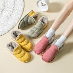 Chinelos quentes para casa, macio e confortável, sapatos femininos, quarto interno, chinelos femininos, inverno, feminino, calçados, 2020, chinelo