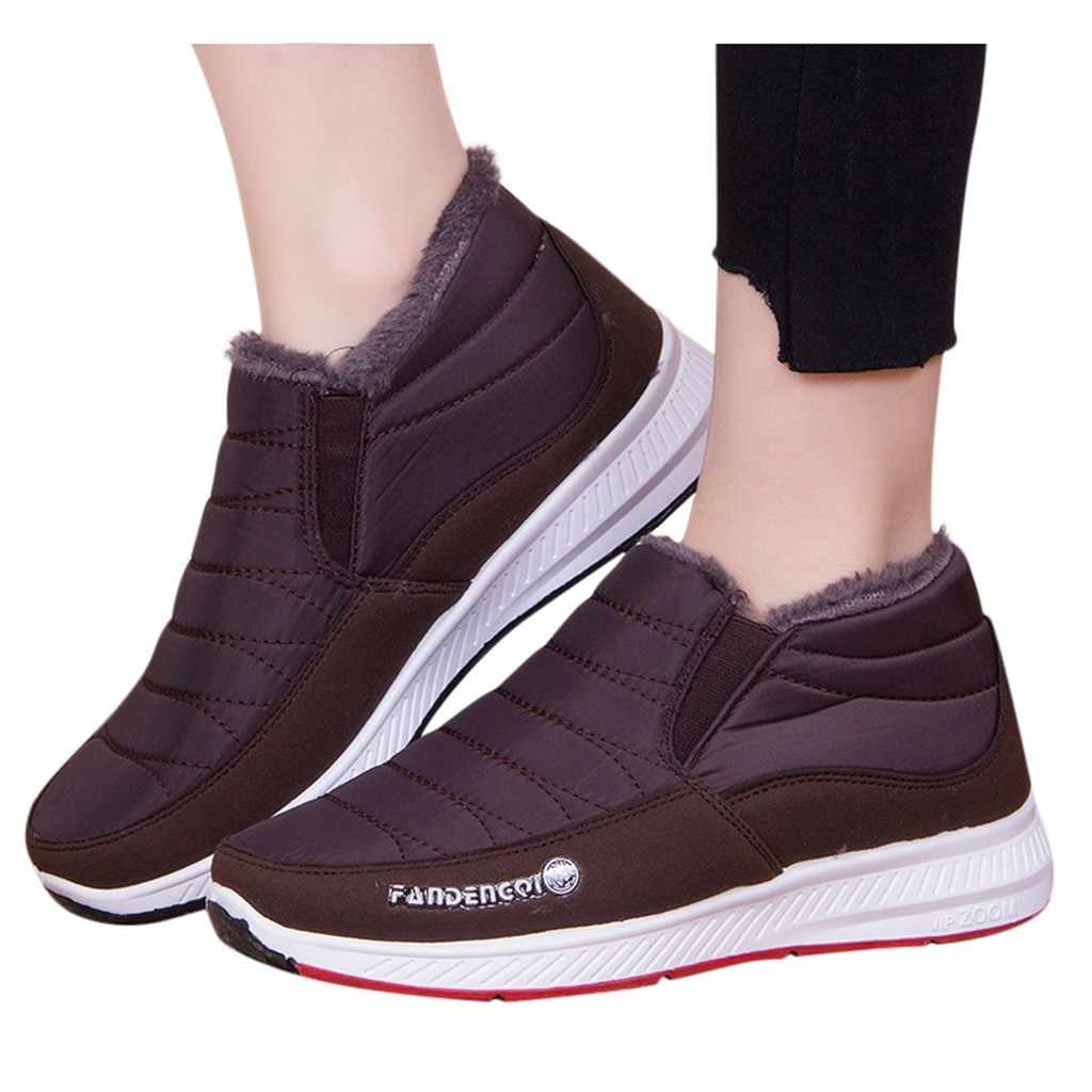 Erkek botları kış platformu tabanlı ayakkabı erkekler için kaymaz kar botları anne rahat erkekler peluş kış Sneakers patik Botas Hombre