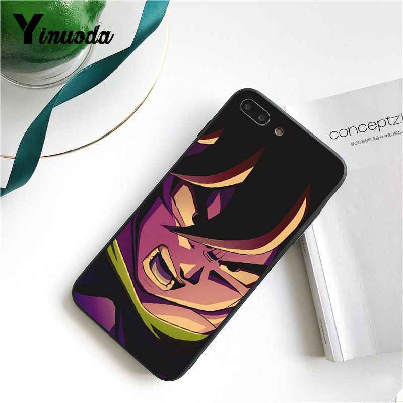 Yinuoda Dragon Ball Z Super DBZ Goku Fashion Coque Shell Phone Case for iPhone 8 7 6 6S X XS MAX 5 5S SE XR 11 Pro Max