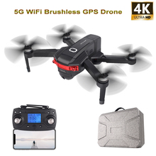 цена на W11 GPS Drone with 4K/720P FPV Dual Camera 5G WiFi FPV Brushless Optical Flow RC Drone Quadcopter Flight 22 Mins Vs K1 SG906