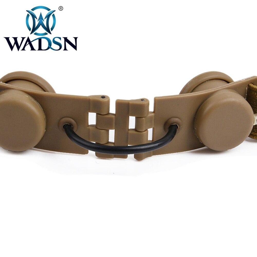 Wadsn padrão militar plug fone de ouvido
