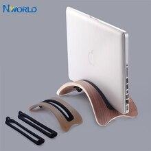 木製コンピュータスタンドスタンド 1.31 センチメートル macbook 1.8 センチメートル macbook air 2.4 センチメートル macbook pro の