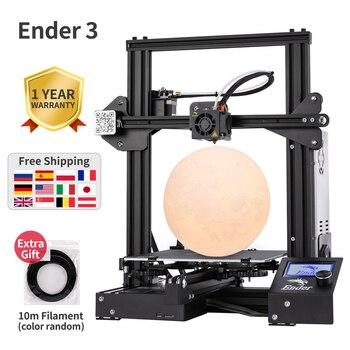 Ender-3 3D printer DIY Kit Large print Size mini Ender 3/Ender-3X printer 3D Creality 3D printer Continuation Print Power 1
