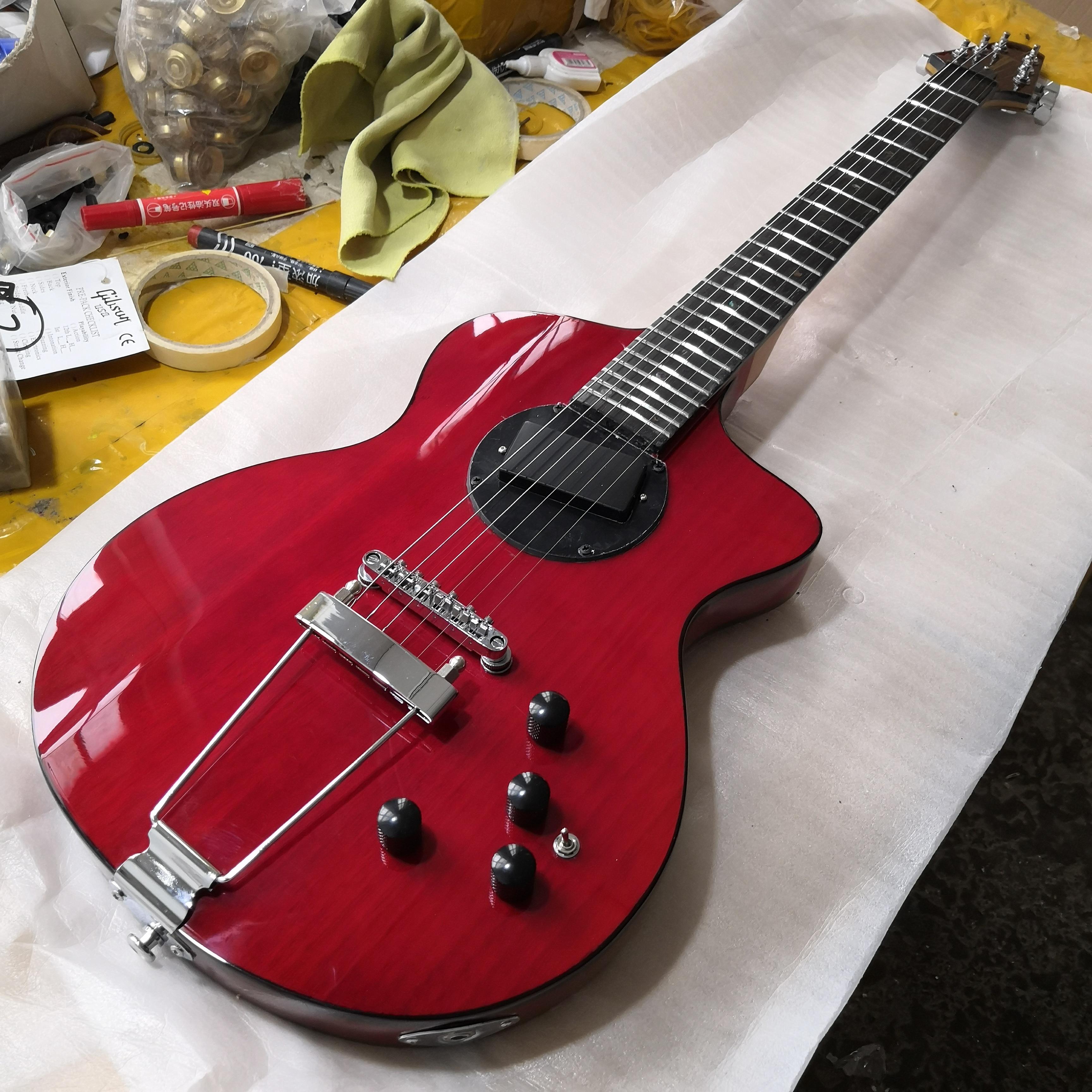 Новая специальная гитара античная Вишня 2 хорошие аксессуары для гитары электрогитары