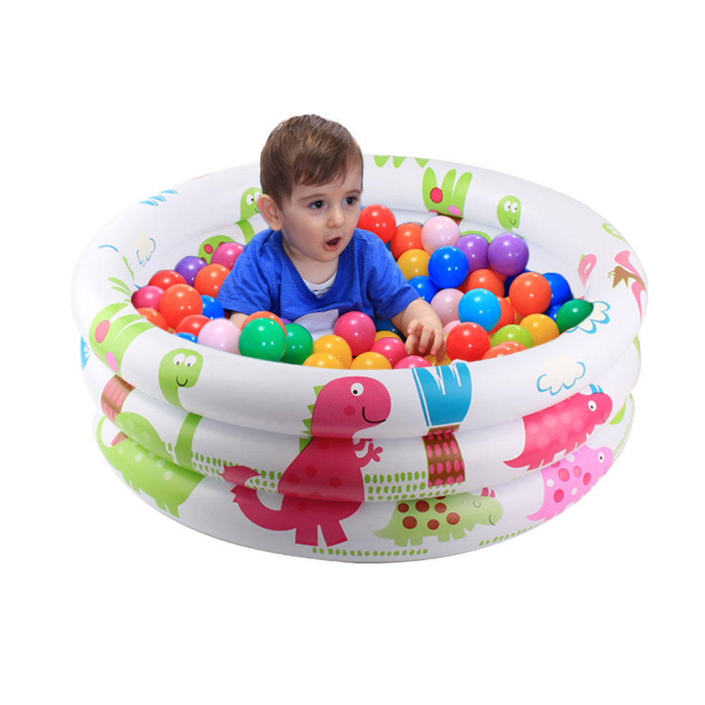 Garden Round Inflatable Baby Swimming Pool Portable Children Kiddie Paddling Pool Toddler Water Game Play Center