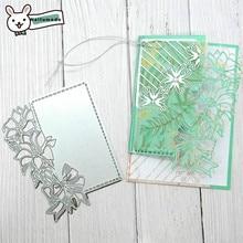 Naifumodo Flower Lace Die Cutting Dies Metal Scrapbooking Album Card Making Embossing Stencil Diecuts Decoration