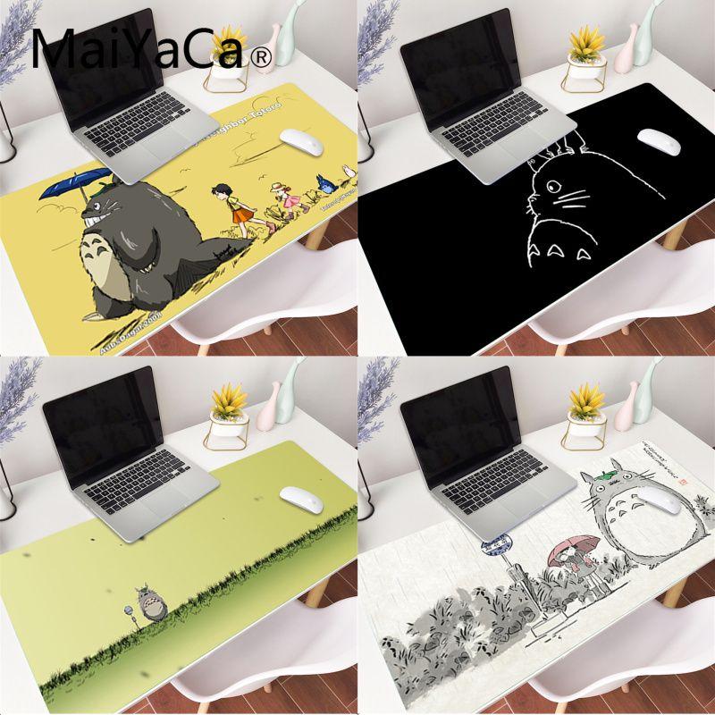MaiYaCa My Neighbor Totoro Laptop Gaming Mice Mousepad Gaming Mouse Pad Large Deak Mat 700x300mm for overwatch/cs go