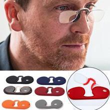 Óculos de presbiopia sem moldura para homens vintage clássico metal plano espelho óptico óculos portátil visão cuidados