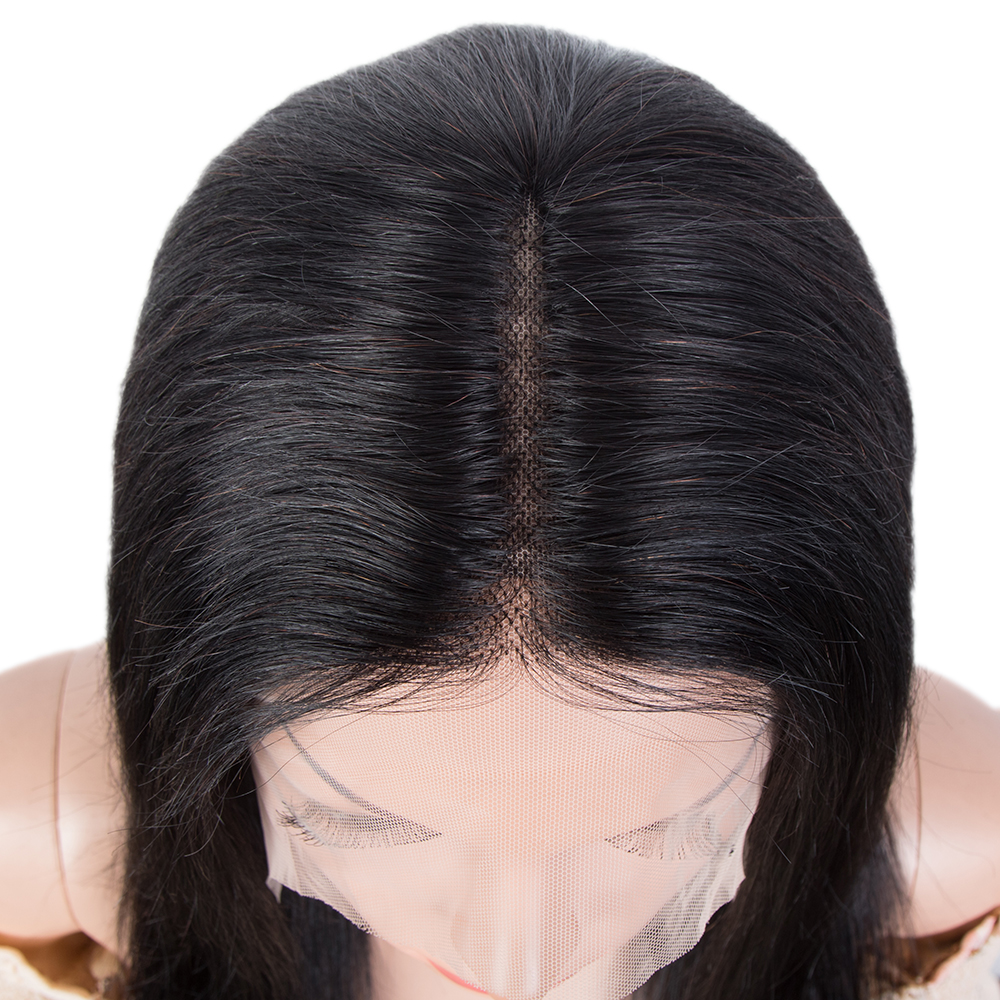 Rebecca peruca reta t parte peruca de