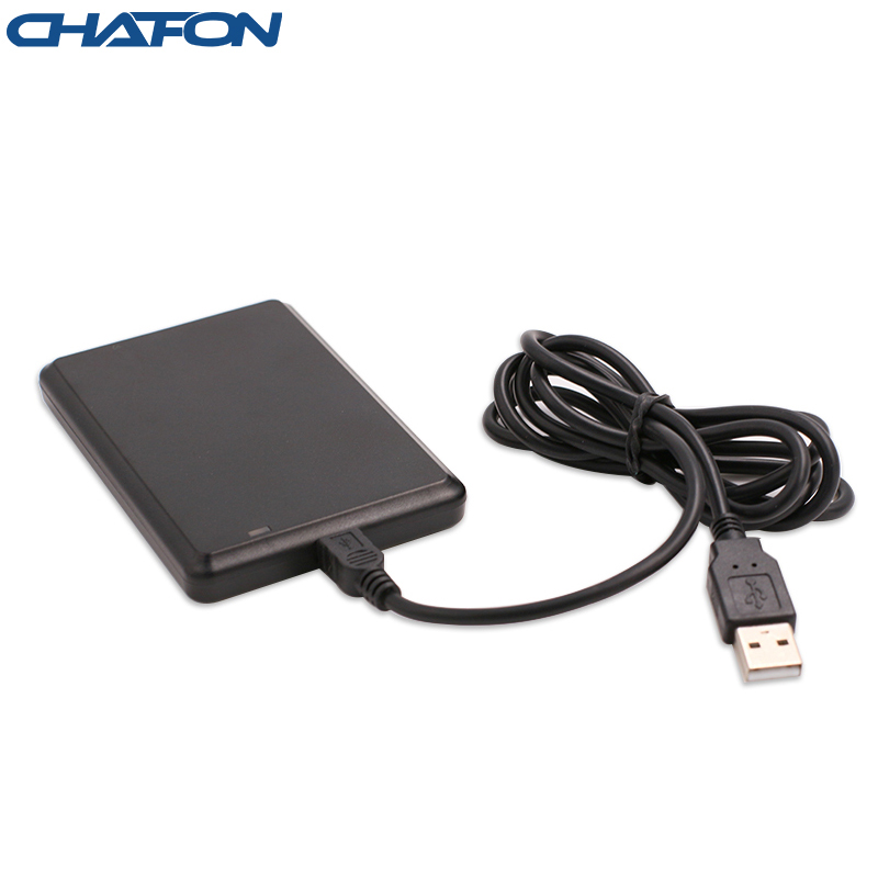 Chafon usb dual frequency rfid card reader support read id or ic card at the same time for access control