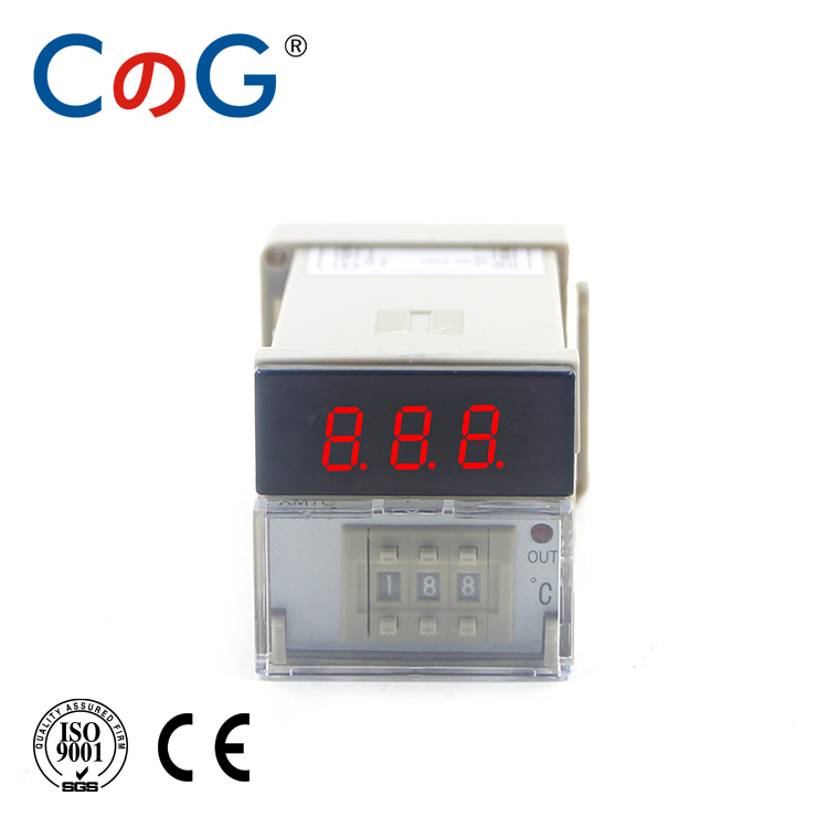 CG XMTG K J E PT100 Input 0-399 Degree AC 220V Relay Output Digital Display Dial Code Thermostat Temperature Controller