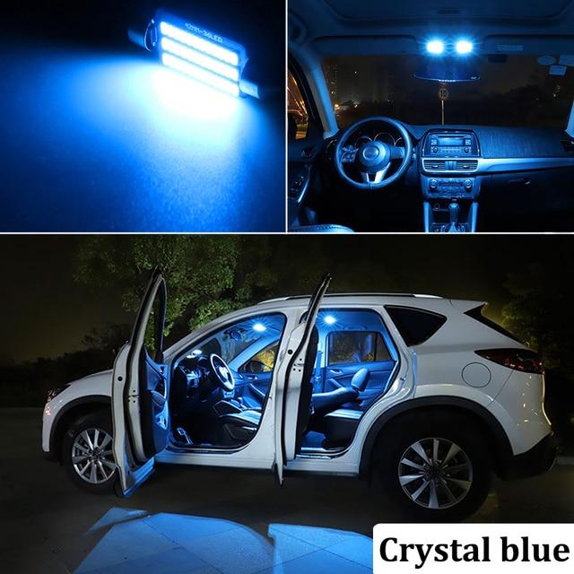 BMTxms For Audi A3 8L 8V 8P A4 B5 B6 B7 B8 A5 A6 C5 C6 C7 A7 A8 D2 D3 Canbus Vehicle LED Interior Map Dome Trunk Light Kit 5