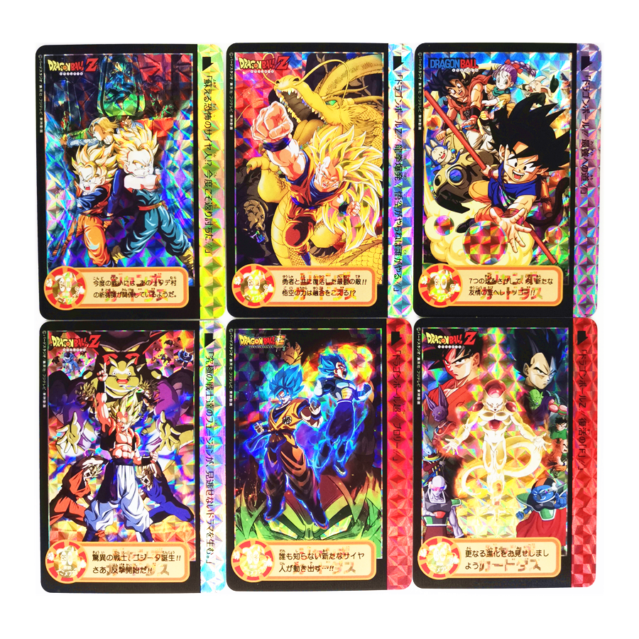 10pcs/set Dragon Fist Super Saiyan Dragon Ball Z Heroes Battle Card Ultra Instinct Goku Vegeta Game Collection Cards