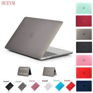 Crystal\Matte Hard Case For Apple Macbook Air Pro Retina 11 12 13 15 16 inch,Case For 2020 New Pro13 A2251 A2289 A2179