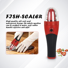 ITOP 7W Electric Handheld Fish Scaler Rechargeable Waterproof With Protector Convenient Tool 110V/220V CE