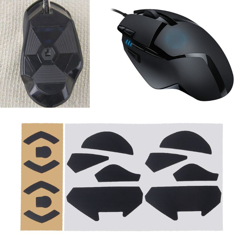 2 Sets/Pack Original Hotline Games Competition Level Mouse Feet Mouse Skates Gildes For Logitech G402 Mouse 0.8mm Thickness