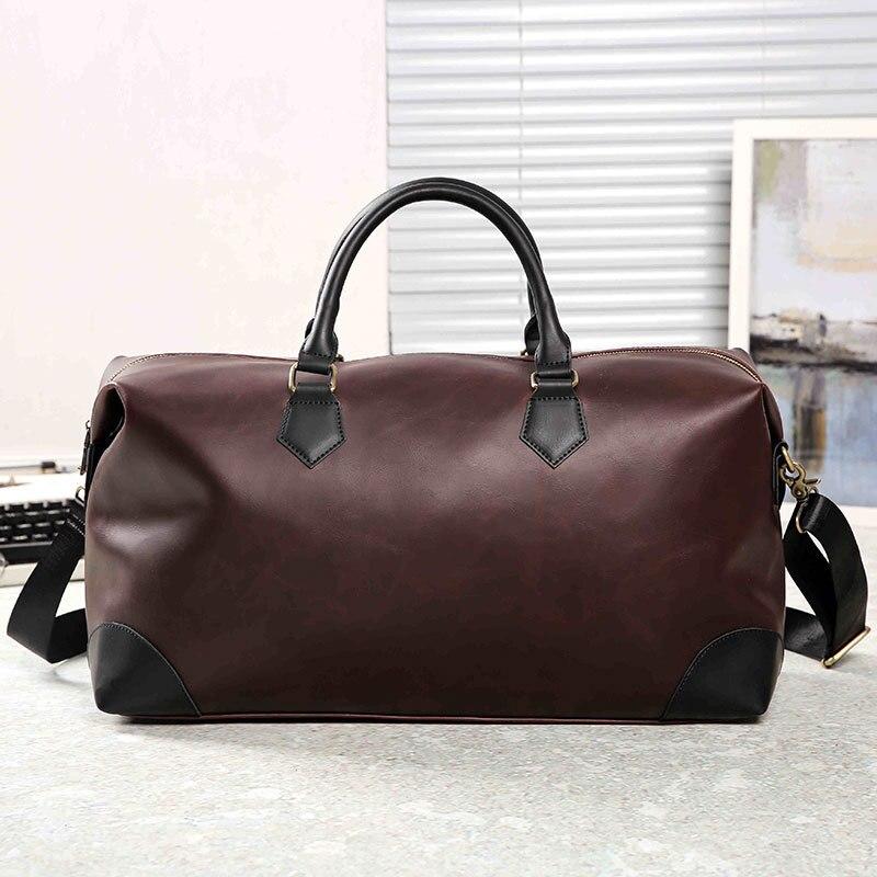 2009 New Large-capacity Handbag Travel Bag Business Bag Men's Computer Bag Retro Leisure Single Shoulder Bag Korean Edition