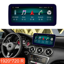 10.25 pollici 4 + 64G Android Display per Benz A CLA GLA Auto w176 2015-2018 Schermo della Radio GPS di Navigazione Bluetooth Head UP Touch Screen(China)
