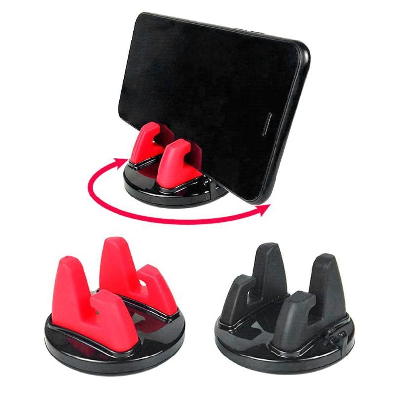 360 Degree Rotation Car Phone Holder Dashboard Sticking Mobile Phone Holder Stand Mount Support Bracket