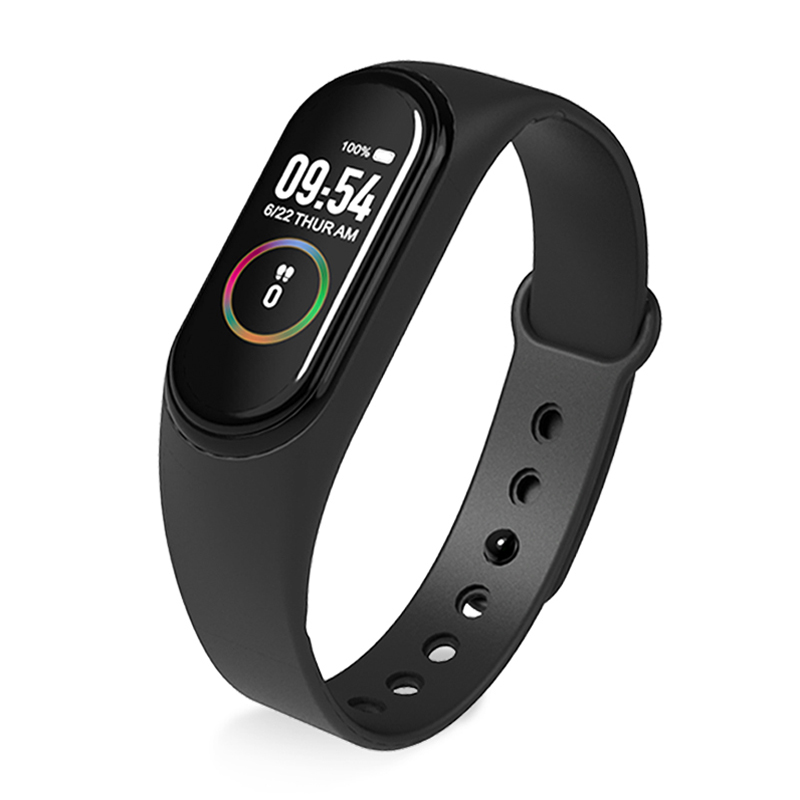 M4 Smart Band Wristband Watch Fitness Activity Tracker Pedometer Heart Rate Monitoring Tracker Blood Pressure Wrist Watch