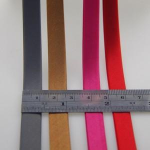 Image 3 - פוליאסטר סאטן הטיה קלטת כפול פי גודל 1 cm, 80 מטר. הטיה מחייב כפול פי תפירת קצה חומר אביזרי DIY יד