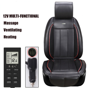 Car Seat Cover Massage Heating