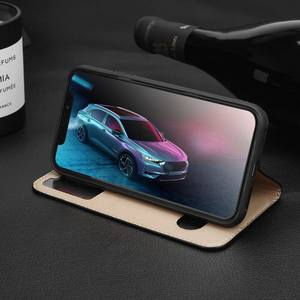 Image 5 - Genuine Leather Case For Iphone 7 8 Plus Case For XS Max Cover Window View Protection Coque For Iphone X XR SE 2020 Cases Fundas