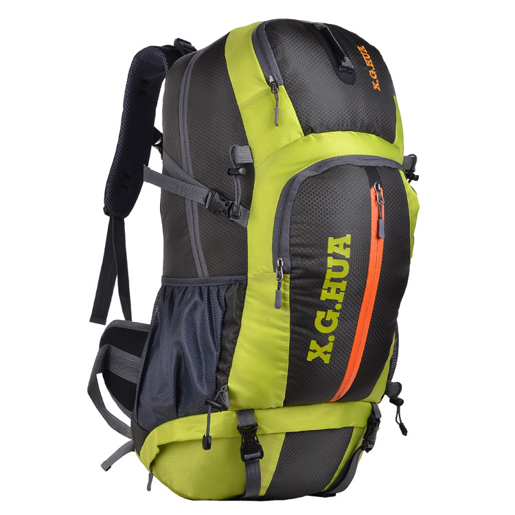 Large-Volume Mountaineering Bag Waterproof Nylon Casual Sports Bag Outdoor Travel Backpack Hiking Camping Pack