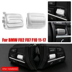 Botón de volante multifuncional, 2 uds., para BMW serie 5, F10, F18, serie 5, GT, 7, F02