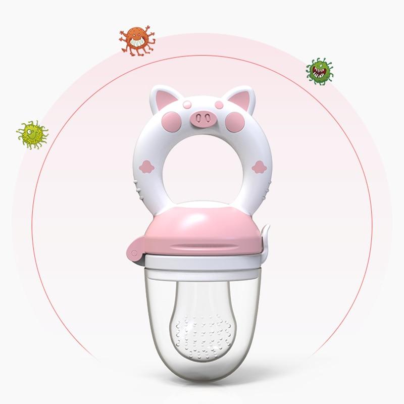 Fresh Food Baby Pacifiers Feeder Kids Fruit Feeder Nipples Feeding Safe Baby Supplies Nipple Teat Pacifier Bottles